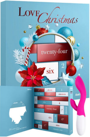 Satisfyer Advent Calendar + Lily Vibrator - Adventtikalenteri seksilelut 1